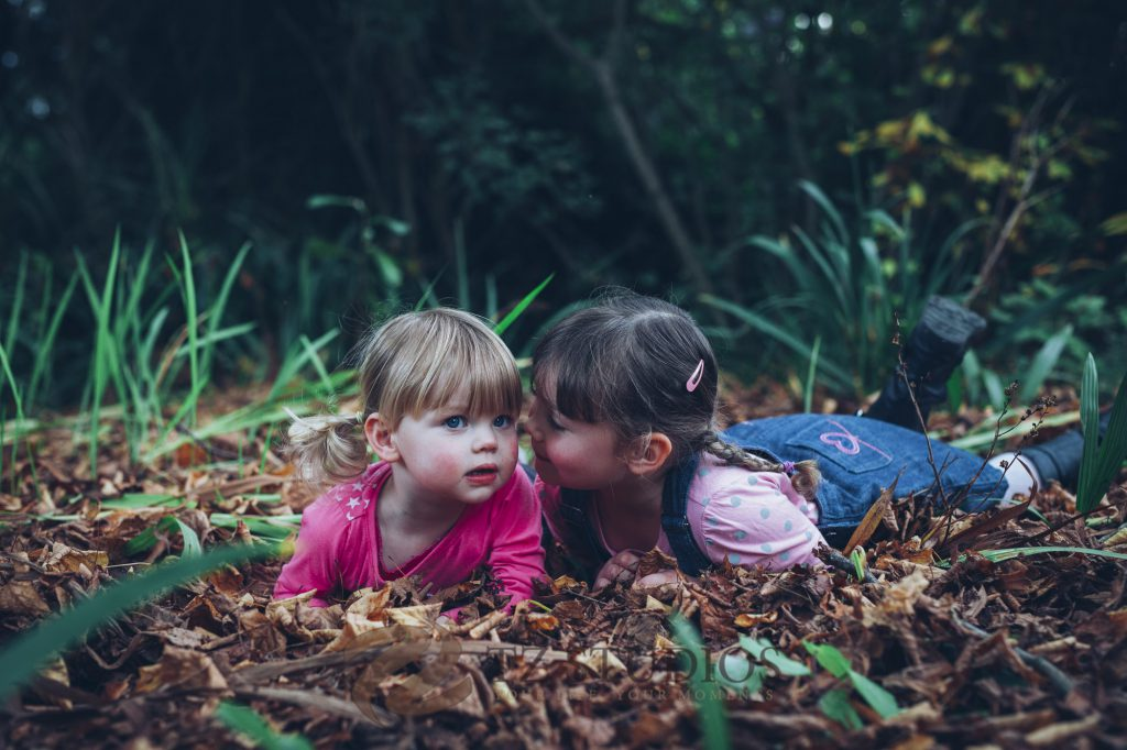 Two beautiful sisters in this Manawatu children portrait images by TZ Studios